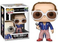 Funko Rocks POP Music Vinile Figura Elton John Glitter 9 cm Esclusiva