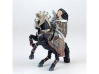Bullyland 75581 - Arbaton Chentoi & Evil Horse Cavallo 14 cm personaggio