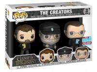 Funko Game Of Thrones Pop Serie Tv Vinile 3 Figura I Creatori 9 Cm
