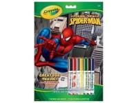 Crayola 5819 Album attività e colori 32 pagine Spider man