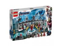 LEGO MARVEL SUPER HEROES 76125 - AVENGERS: SALA DELLE ARMATURE DI IRON MAN