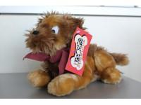 Disney La Carica dei 101 - Peluche cagnolino steso marrone 30cm circa