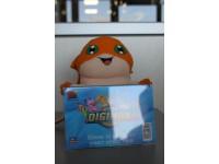 Digimon - Peluche Digimon arancione con cornice davanti 20cm