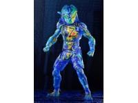 Neca Predator 2018 Action Figura Thermal Vision Fugitive Predator 20 Cm