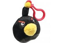 Angry Birds - Zaino Clip Uccello Nero 6cm