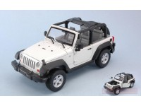 Welly WE22489W JEEP WRANGLER 2007 WHITE 1:24 Modellino