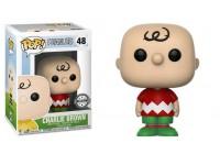 Funko Peanuts POP Figura Charlie Brown Natale 9 cm Esclusiva Scatola rovinata