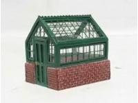 Hornby HC8682 Greenhouse Serra vetrate e mattoni Modellismo