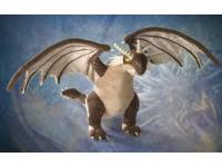 Harry Potter Peluche Drago Ungaro Spinato Di Hagrid 25 Cm Noble Collection