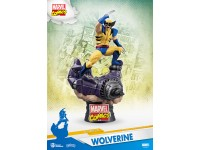 Wolverine Marvel Statua Wolverine D-Select Diorama Figura 15 cm Beast Kingdom