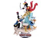 Mickey Mouse Statua Concerto della Band D-Stage Diorama Figura 16cm BeastKingdom