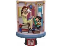 Ralph 2 Statua Belle & Vanellope D-Stage Diorama Figura 15 cm Beast Kingdom