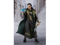 Avengers Marvel Statua Loki Tamashii Nations S.H. Figura 15 cm Bandai