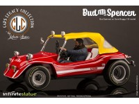 Bud Spencer sopra la Dune Buggy Replica 1:18 Infinite Cars Legacy