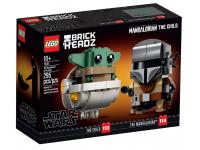 LEGO BRICKHEADZ 75317 - STAR WARS: IL MANDALORIANO E IL BAMBINO