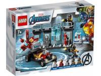 LEGO SUPER HEROES 76167 - ARMERIA DI IRON MAN