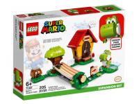 LEGO SUPER MARIO 71367 - LA CASA DI MARIO & YOSHI SET ESPANSIBILE