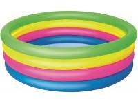 Piscina a 4 Anelli Colorati Gonfiabile 157 x 46 cm Bestway 51117