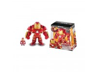 Jada Toys 2 Personaggi Iron Man Con Armatura Hulkbustoer 15 E 3 Cm Die Cast