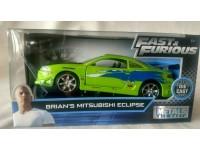 JADA TOYS 253202000 Fast & Furious Mitsubishi Eclipse di Brian Die Cast 1:32