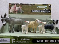 COLLECTA 88270 - FARM LIFE COLLECTION KIT FATTORIA 5 PECORE GIOCATTOLO