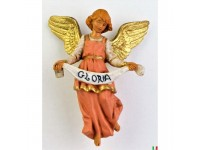 Fontanini 4582 - Statuina Presepe: Angelo Gloria Resina 12 cm
