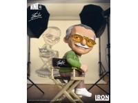 STAN LEE IRON STUDIOS CREATORE MARVEL FIGURA 14 CM MINICO