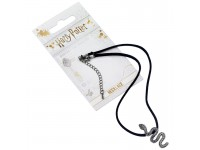 Harry Potter Collana Girocollo con Ciondolo Serpente Serpeverde 40 cm The Carat Shop