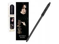 Harry Potter Bacchetta Magica Severus Piton + Segnalibro 3D Noble Collection