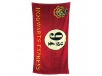 Harry Potter Asciugamano Espresso Per Hogwarts Binario 9 3/4 Cotone Groovy