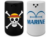 One Piece Saliera e Pepiera Skull & Marine ABYstyle