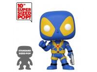 Deadpool Funko POP Film Vinile Figura Deadpool Blu Pollice in alto 25 cm