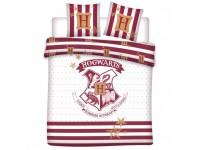 Harry Potter Copripiumino Bianco Hogwarts Letto 240x220 cm Warner Bros.