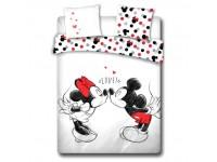 Mickey e Minnie Copripiumino Bianco Love Letto 135 cm Disney