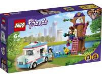 LEGO FRIENDS 41445 - L'AMBULANZA DELLA CLINICA VETERINARIA