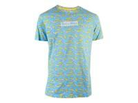 Rick & Morty - Banana Aop T-shirt Uomo Difuzed