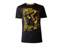 Pokémon - Pikachu Profile T-shirt Uomo Difuzed