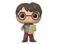 Harry Potter Funko POP Film Vinile Figura Harry Con Mappa Del Malandrino 9 Cm