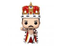 The Queen Funko POP Musica Vinile Figura Freddie Mercury con Corona e Mantello 9cm