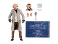 Ritorno Al Futuro Statua Doc Brown Ultimate Figura 18cm Neca