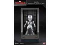 Iron Man 3 Statua Sala Delle Armature Mark Ii Figura 8cm Mini Uova Beast Kingdom