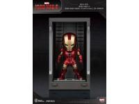 Iron Man 3 Statua Sala Delle Armature Mark Iii Figura 8cm Mini Uova Beast Kingdom