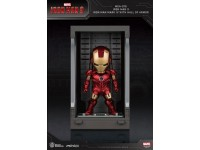 Iron Man 3 Statua Sala Delle Armature Mark Iv Figura 8cm Mini Uova Beast Kingdom