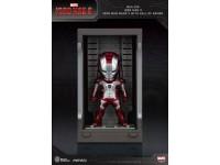 Iron Man 3 Statua Sala Delle Armature Mark V Figura 8cm Mini Uova Beast Kingdom