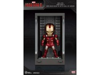 Iron Man 3 Statua Sala Delle Armature Mark Vii Figura 8cm Mini Uova Beast Kingdom