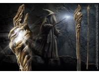 Bastone Luminoso Gandalf Lo Hobbit Il Signore degli Anelli 186 cm Noble