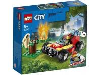 LEGO CITY 60247 - INCENDIO NELLA FORESTA