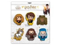 Harry Potter Wizard set 6 erasers Karactermania
