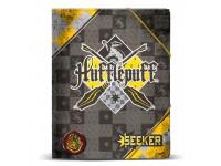 Harry Potter Raccoglitore A4 Quidditch Tassorosso Karactermania
