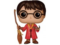 Harry Potter Funko POP Film Vinile Figura Harry Versione Quidditch 9 Cm